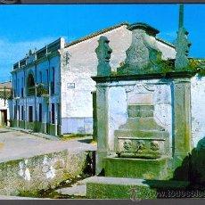 Postales: TARJETA POSTAL DE NAVALMORAL DE LA MATA FUENTE DE LOS CAÑOS VIEJOS CACERES. Lote 18572891