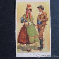 Cartoline: POSTAL DE TRAJES TIPICOS ESPAÑOLES DE CACERES,LAIETANA-TUSER.. Lote 24548899