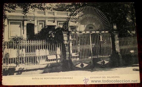Baños De Montemayor Balneario | Antigua Postal De Banos De Montemayor Caceres Comprar Postales