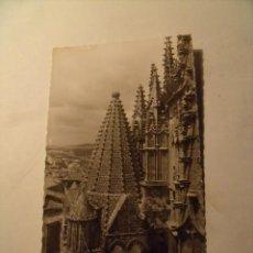 Postales: POSTAL PLASENCIA. CÁCERES. CATEDRAL, TORRE DEL MELÓN. CIRCULADA SIN SELLO. POSTAL 162. Lote 19390531