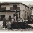 Postales: MONASTERIO DE GUADALUPE, PUEBLO. LA FUENTE DE LOS TRES CHORROS. JOSÉ ALSINA. . Lote 25705236