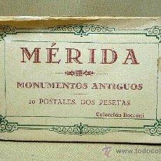 Postales: ANTIGUAS POSTALES, 18, MERIDA, MONUMENTOS ANTIGUOS, HAUSER Y MENET, COLECCION BOCCONI. Lote 21657465