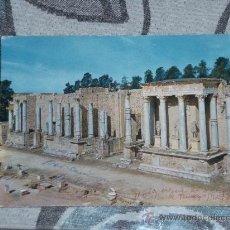 Postales: POSTAL DE MÉRIDA (BADAJOZ) AÑOS 60. ANFITEATRO ROMANO. Lote 24691207