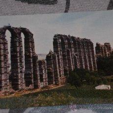 Postales: POSTAL DE MÉRIDA (BADAJOZ) AÑOS 60. ACUEDUCTO ROMANO. Lote 24691578
