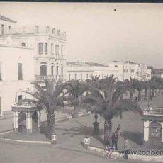 Postales: OLIVENZA (BADAJOZ).- PASEO DEL GENERAL FRANCO. Lote 25236060