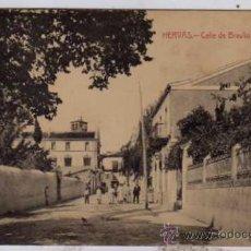 Postales: HERVÁS. CÁCERES. CALLE DE BRAULIO NAVAS. EDICIÓN J. M. H. FOTIP. CASTAÑEIRA, ALVAREZ Y LEVEN. Lote 25430904