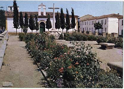 ( CACERES ) CORIA. MONUMENTO A LOS CAIDOS. F.I.T.E.R. SIN CIRCULAR (Postales - España - Extremadura Moderna (desde 1940))
