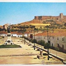 Postales: BADAJOZ. MEDELLIN. MONUMENTO A HERNAN CORTES Y CASTILLO.. Lote 26232540
