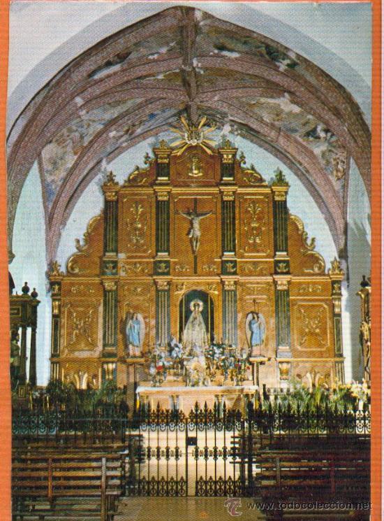 SIRUELA - BADAJOZ - RETABLO DE LA ERMITA DE LA VIRGEN DE ALTAGRACIA - EXCL. FOTOS CABITO TALARRUBIAS (Postales - España - Extremadura Moderna (desde 1940))
