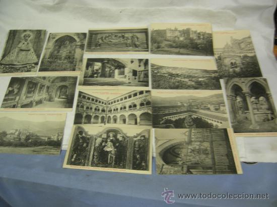 14 POSTALES DE NTRA. SRA. DE GUADALUPE Y MONASTERIO - VER FOTOS. (Postales - España - Extremadura Antigua (hasta 1939))