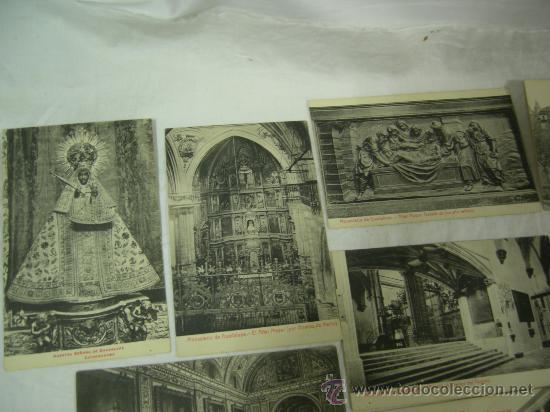 Postales: 14 POSTALES DE NTRA. SRA. DE GUADALUPE Y MONASTERIO - VER FOTOS. - Foto 2 - 27402390