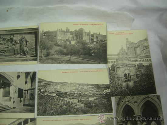 Postales: 14 POSTALES DE NTRA. SRA. DE GUADALUPE Y MONASTERIO - VER FOTOS. - Foto 3 - 27402390
