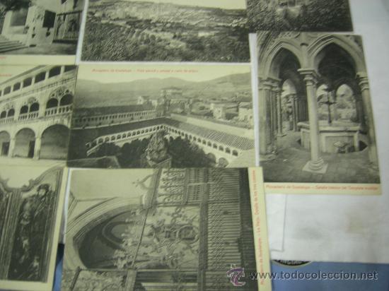 Postales: 14 POSTALES DE NTRA. SRA. DE GUADALUPE Y MONASTERIO - VER FOTOS. - Foto 5 - 27402390