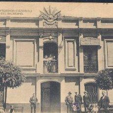 Postales: BAÑOS DE MONTEMAYOR (CÁCERES).- FACHADA DEL BALNEARIO. Lote 27512006