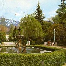 Postales: HERVAS Nº 2005 GLORIETA CENTRAL DEL PARQUE ESCRITA SIN CIRCULAR EDICIONES ARRIBAS . Lote 27597175
