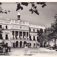 Postales: POSTAL BADAJOZ PALACIO MUNICIPAL . Lote 28026153