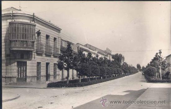DON BENITO (BADAJOZ).- AVENIDA DEL GENERALISIMO FRANCO (Postales - España - Extremadura Moderna (desde 1940))