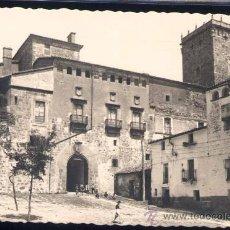 Postales: PLASENCIA (CÁCERES).- PALACIO DEL MARQUÉS DE MIRABEL. Lote 28086342