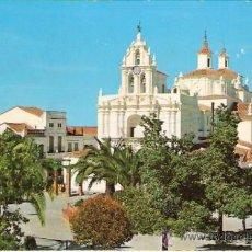 Postales: TARJETA POSTAL. BADAJOZ. AZUAGA. IGLESIA CRISTO DEL HUMILLADERO. FARDI, BARCELONA.. Lote 28662193