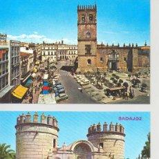 Postales: LOTE 2 POSTALES- BADAJOZ. Lote 28693552