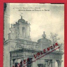 Postales: MERIDA, BADAJOZ, RESTOS DEL TEMPLO DE MARTE, P63768. Lote 28773917