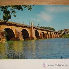 Postales: BADAJOZ PUENTE SOBRE EL RIO GUADIANA SIN CIRCULAR EDICIONES ARRIBAS. Lote 28857794