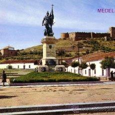 Postales: ESPAÑA. T. P. Nº 2007. MEDELLIN (BADAJOZ). MONUMENTO A HERNÁN CORTÉS Y CASTILLO. NUEVA.. Lote 29067880