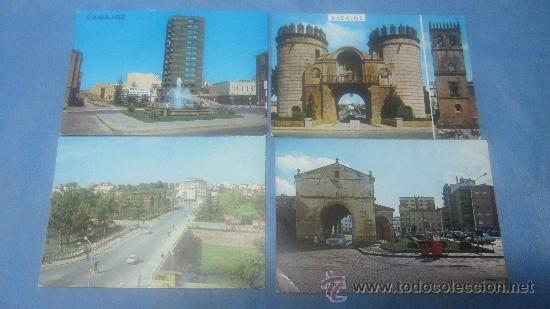 Postales: LOTE DE 55 POSTAL POSTALES POSTAL DE BADAJOZ COLOR - Foto 9 - 30351030