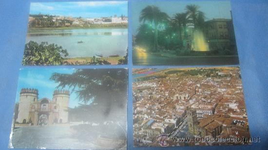 Postales: LOTE DE 55 POSTAL POSTALES POSTAL DE BADAJOZ COLOR - Foto 6 - 30351030
