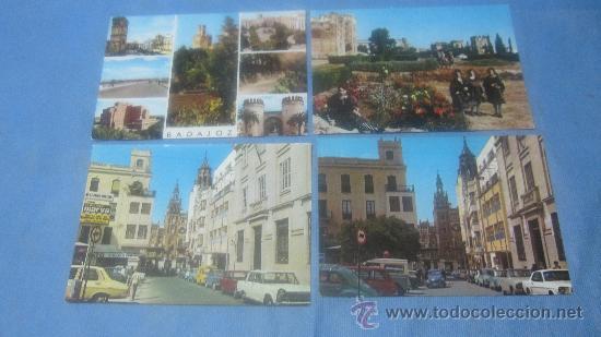 Postales: LOTE DE 55 POSTAL POSTALES POSTAL DE BADAJOZ COLOR - Foto 14 - 30351030