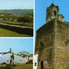 Postales: FREGENAL DE LA SIERRA BADAJOZ VARIOS ASPECTOS ESCRITA CIRCULADA SELLO. Lote 30443011