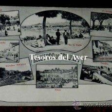 Postales: ANTIGUA POSTAL DE RECUERDO DE TRUJILLO, CACERES, ED. A. DURAN, TRUJILLO, NO CIRCULADA.. Lote 30605338