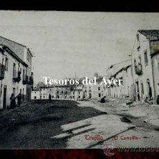 Postales: ANTIGUA POSTAL DE TRUJILLO, EL CAMPILLO, N. 9, CACERES, ED. A. DURAN, TRUJILLO, NO CIRCULADA.. Lote 30605384