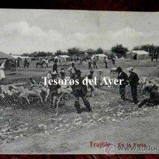 Postales: ANTIGUA POSTAL DE TRUJILLO, EN LA FERIA, N. 28, CACERES, ED. A. DURAN, TRUJILLO, NO CIRCULADA.. Lote 30605405