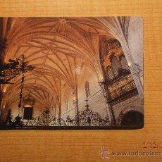 Postales: POSTAL CORIA (CACERES) CATEDRAL BOBEDAS SIN CIRCULAR. Lote 30661586