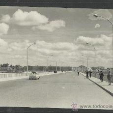 Postales: BADAJOZ - 1020 - PUENTE NUEVO SOBRE EL RIO GUADIANA- ED. ARRIBAS - (9320). Lote 30706720