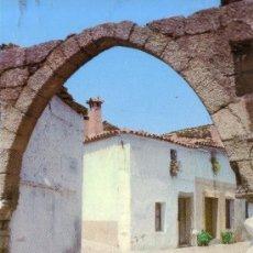 Postales: CACERES - GARROVILLAS - ARCO DE LA CALLE DE MENDO. Lote 30884822
