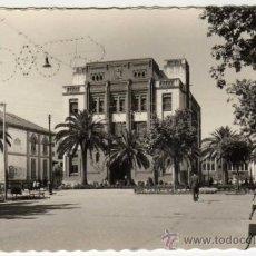 Postales: BONITA POSTAL - BADAJOZ - PASEO DEL GENERAL FRANCO - EDIFICIO DE CORREOS Y TELEGRAFOS. Lote 30875866