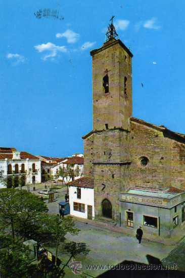 NAVALMORAL DE LA MATA 4802 PLAZA DE ESPAÑA EXCLUSIVAS NIRMA ESCRITA CIRCULADA SELLO (Postales - España - Extremadura Moderna (desde 1940))
