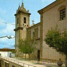 Postales: SAN VICENTE DE ALCANTARA BADAJOZ Nº 3 IGLESIA PARROQUIAL Y CALLE JOSE ANTONIO J. PRIETO CIRCULADA . Lote 31691743