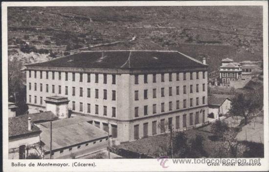 Baños De Montemayor Balneario | Banos De Montemayor Caceres Gran Hotel Baln Comprar Postales