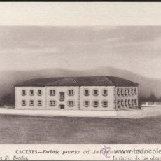 Postales: CÁCERES.- FACHADA POSTERIOR DEL AMBULATORIO DE TRUJILLO. Lote 32110910
