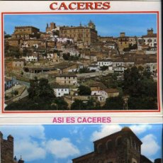 Postales: POSTAL - TIRA, ALBUM, LIBRILLO ACORDEON 10 POSTALES CASTELL DE GUADALEST - CACERES. Lote 32506146