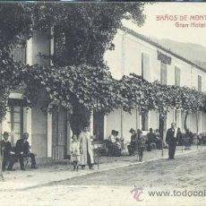Postales: BAÑOS DE MONTEMAYOR (CÁCERES).- GRAN HOTEL ELOY. Lote 32619977