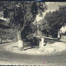 Postales: BAÑOS DE MONTEMAYOR (CÁCERES).- CURVAS DEL PORTAZGO. Lote 32619991
