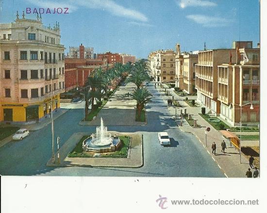 POSTAL DE BADAJOZ.CIRCULADA (Postales - España - Extremadura Moderna (desde 1940))