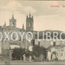 Postales: CÁCERES. - SAN FRANCISCO. VIUDA DE MANUEL CILLEROS. C. 1920. Lote 35407460
