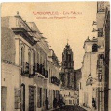 Postales: INTERESANTE POSTAL - ALMENDRALEJO (BADAJOZ) - CALLE PALACIOS - COLECCIÓN JOSÉ FERNANDEZ GONZALEZ. Lote 35458275