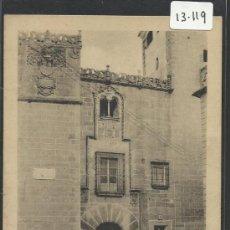 Postales: CACERES - CASA DE LOS GOLFINES - EDICION EULOGIO BLASCO- (13.119). Lote 35662056