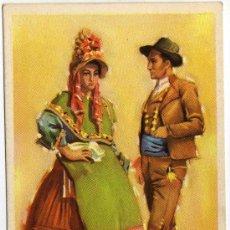 Postales: BONITA POSTAL - CACERES - PAREJA ATAVIADA CON TRAJE REGIONAL . Lote 36169974